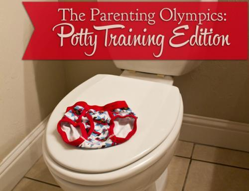 Parenting Olympics • Potty Train Edition