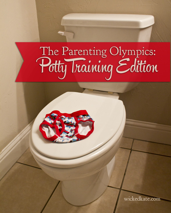 Potty Training Olympics by wickedkate.com